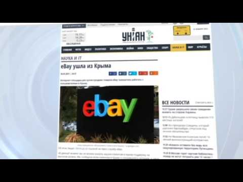 US Eases Sanctions on Russian-occupied Crimea: Ebay is latest company to end services on peninsula