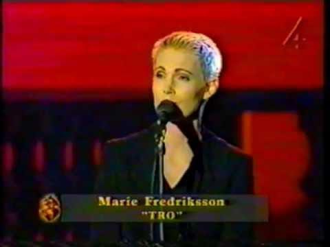 Marie fredriksson TRO (Filmgalan 97)