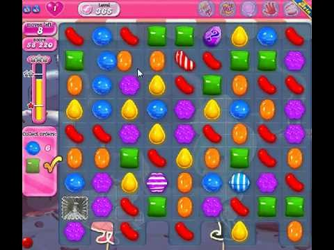 How to beat Candy Crush Saga Level 365 - 3 Stars - No Boosters - 80