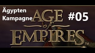 Age of Empires 1 - Ägypten Kampagne #05 [1997 Original Version/Deutsch/Gameplay]