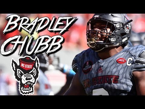 "Bradley Chubb || ""Best Player in 2018 NFL Draft"" ᴴᴰ 
