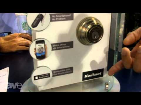 CEDIA 2013: Kwikset Shows KEVO Electronic Door Lock (Bluetooth Deadbolt)
