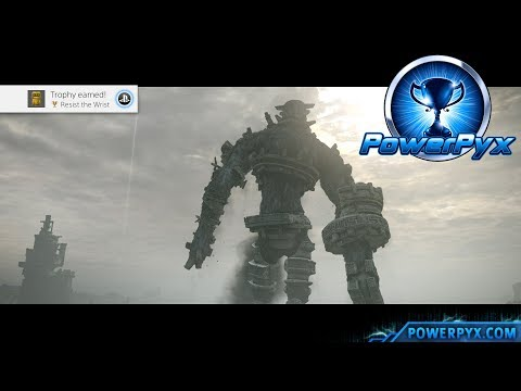 Shadow of the Colossus (PS4) - Resist the Wrist Trophy Guide