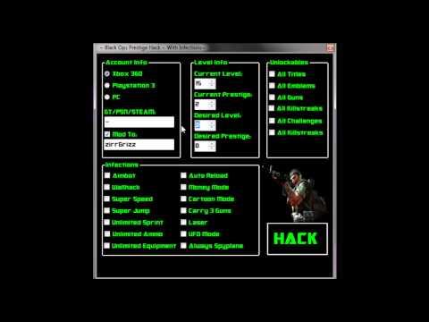 Free Black Ops 2 10th Prestige Hack XBOX 360, PS3, WII NO SURVEY