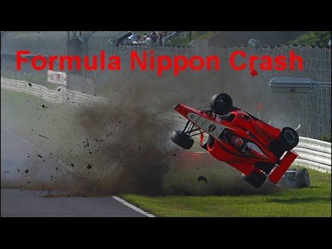 Formula Nippon Crash Compilation