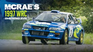 We Drove Colin McRae's 1997 Subaru Impreza WRC Car! | Carfection 4K