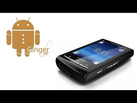 Instalar ROM GingerDX en Xperia X10 Mini con Android 2.3.7