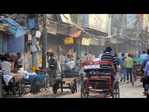 Old Delhi, India [デリー/インド] video