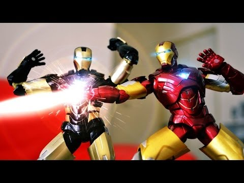 Iron Man's Unboxing Stop Motion