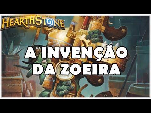 HEARTHSTONE - A INVENÇÃO DA ZOEIRA! (STANDARD TEMPO WARRIOR)