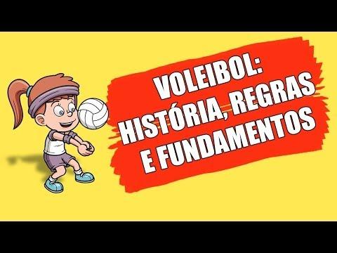 VOLEIBOL HISTÓRIA REGRAS E FUNDAMENTOS