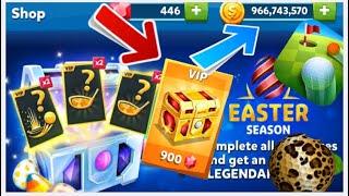 GOLF BATTLE EASTER SEASON VIP BAG OPENED AND AMAZING GAMEPLAY