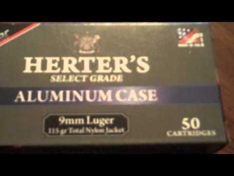 Herter's Total Nylon Jacket Ammo (9mm)