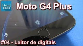 Lenovo Moto G4 Plus - Leitor digital (configurando) - Português
