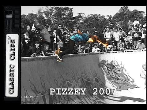 Pizzey Bowl Jam 2007 Skateboarding Classc Event #17 Shane Cross