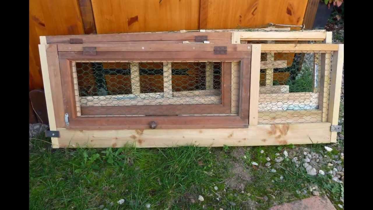 Cage d 39 ext rieur mobile et pliable pour lapin nain angora for Cage a lapin exterieur