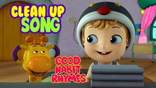 Clean Up Kids Song for preschool and Kindergarten | Infobells