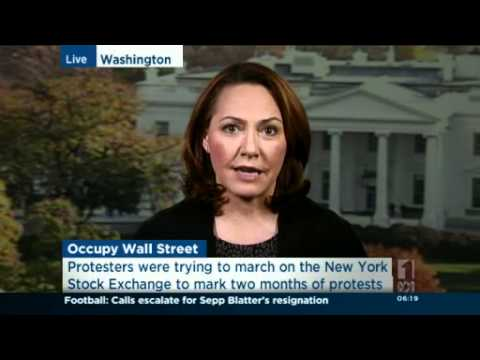 Occupy Wall Street activists battle police