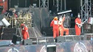 Slipknot live at Sonisphere Basel 24.6.2011 - Liberate