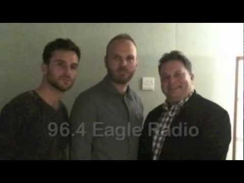 [2011.10] 96.4 Eagle Radio - Guy Berryman and Will Champion of Coldplay