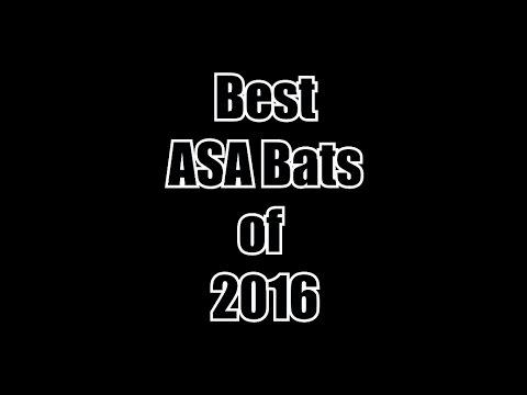 Top 5 ASA bats of 2016