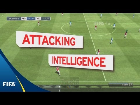 FIFA 13 tutorial: Attacking intelligence