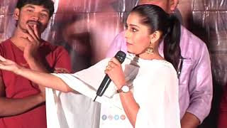Rashmi Gautam Speech at Anthaku Minchi Movie Press Meet