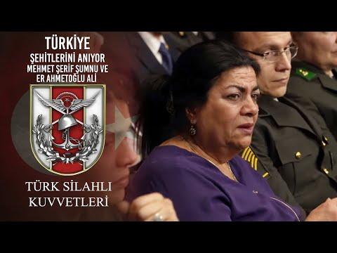 Türkiye Şehitlerini Anıyor - Mehmet Şerif ŞUMNU Ve Er Ahmetoğlu Ali