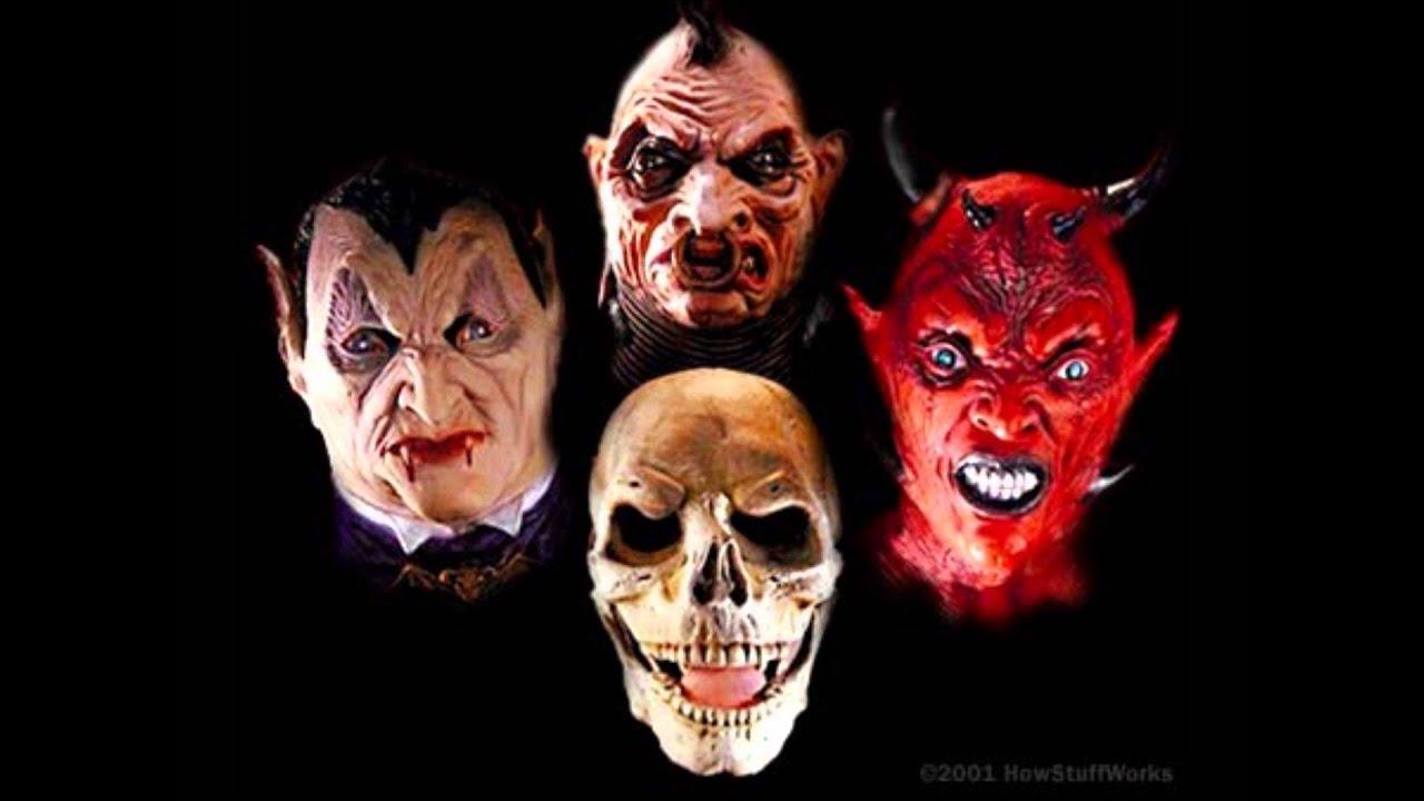C mo hacer m scaras de halloween hd youtube - Mascaras de terror ...