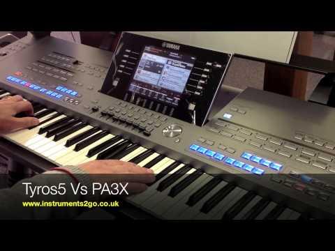 Yamaha Tyros 5 VS Korg PA3x