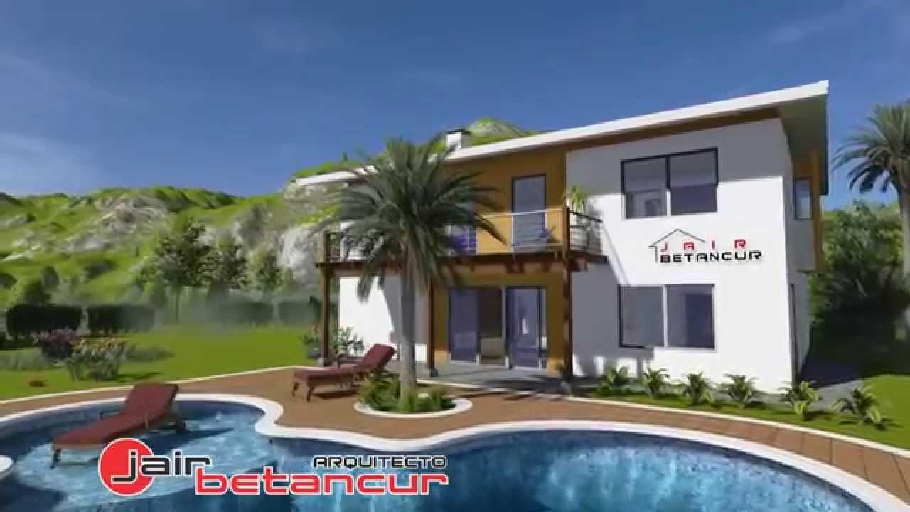 Planos de casas modernas campestres home desing house for Disenos de casas campestres modernas