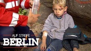 Wo ist der Rettungswagen mit dem verletzten Jungen (6) hin? | Auf Streife - Berlin | SAT.1 TV