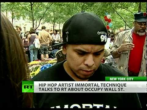 Immortal Technique: Occupy Wall St. is America's Awakening