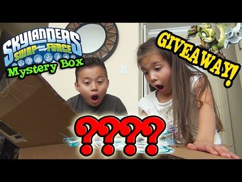 Skylanders Swap Force MYSTERY BOX from Activision UNBOXING GIVEAWAY WAVE 4