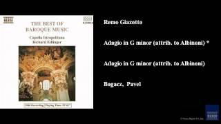Remo Giazotto Adagio In G Minor Attrib To Albinoni Adagio In G Minor Attrib To Albinoni