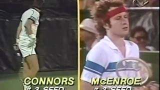 McEnroe vs Connors - Semi Final US Open 1980 - 14/16