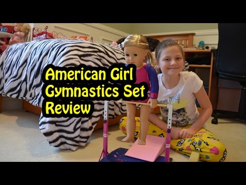 American Girl Gymnastics Set - Toy Review By Bethany G