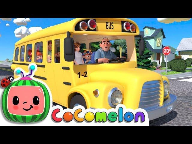 Wheels on the Bus | CoCoMelon Nursery Rhymes & Kids Songs thumbnail