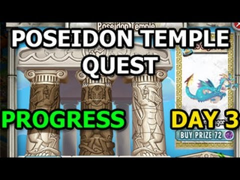 OLYMPUS ISLAND Dragon City Poseidon Temple Quest Unlocked DAY 3