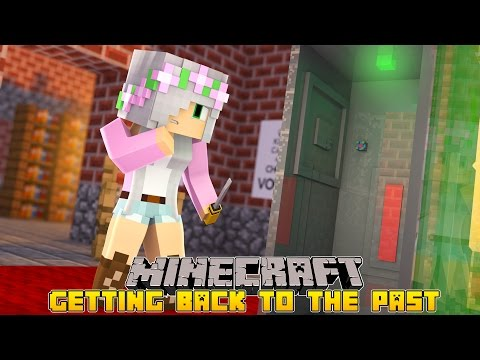 Minecraft - CAN LITTLE KELLY FIX THE TIME MACHINE?!