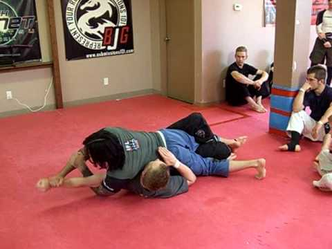 Advanced Half Guard Passing: Capoeira Pass (version 1) Image 1