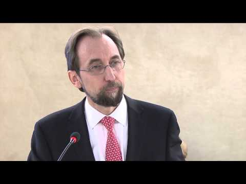 UN High Commissioner for Human Rights - speech to the Human Rights Council
