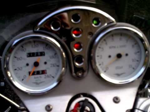 Moto Guzzi California EV Maddy 8:59 Video