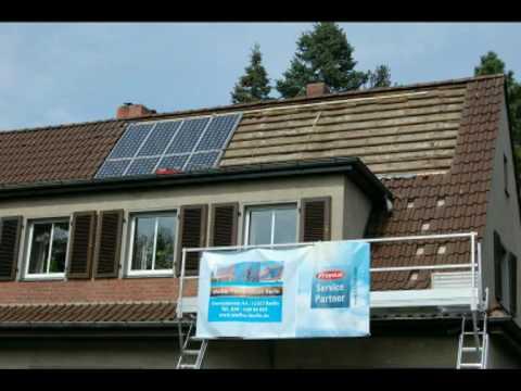 Indach Photovoltaikanlagen