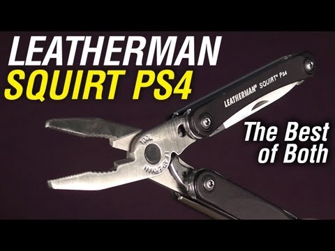 Leatherman Squirt Ps4: The Do It All Mini-multi-tool video