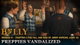 Preppies Vandalized - Mission #61 - Bully: Scholarship Edition