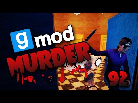 Murderous Deals & Sick Knife Throws! (Gmod Murder #92)