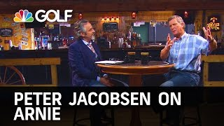 Jacobsen 's on Arnold Palmer - Feherty | Golf Channel
