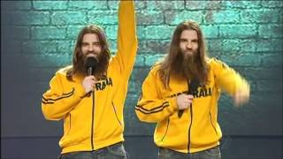 The Nelson Twins - Comedians - Semi Final 8 Australia
