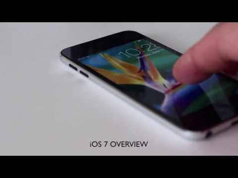 Apple iOS 7 Demo and Overview (iPod Touch 5th Generation)